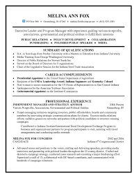 Resume For A Program Director by Executive Leader And It Program Manager Resume For Public