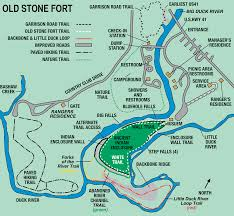 Starved Rock State Park Trail Map by Old Stone Fort State Archaeological Park U2013 Tennessee U2013 Planned