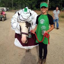 halloween horse starbucks horse costume submitted by michelle wellington see a