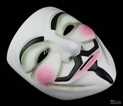 v for vendetta resin mask costume scary halloween masquerade party