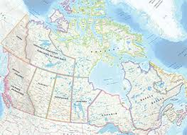 canadian map maps of canada the royal canadian geographical society