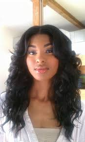 weave hairstyles with middle part ideas about part down the middle hairstyles cute hairstyles for