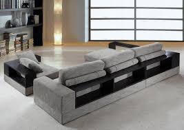 fabric sectional sofa anthem modern grey fabric sectional sofa w chair