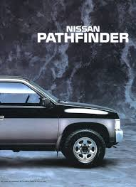 nissan pathfinder us news nissan d21 pathfinder brochure for non us market nicoclub