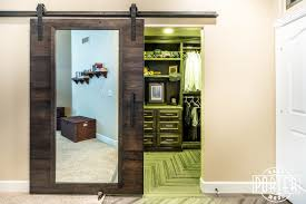 Sliding Door For Closet Closet Barn Doors With Mirrors