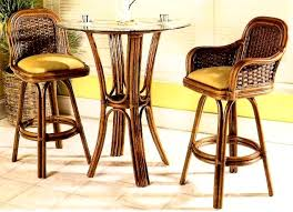 Wicker Bistro Table And Chairs Moroccan Rattan And Wicker Bistro Set Kozy Kingdom