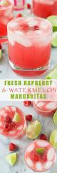 watermelon margarita fresh raspberry watermelon margaritas