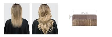 Tap In Hair Extensions by Tape In Extensions Halocouture