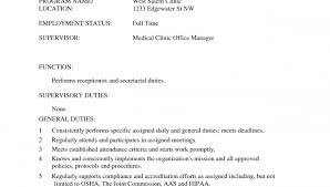 Resume Job Descriptions by Medical Office Assistant Resume Sample Medical Receptionist Resume