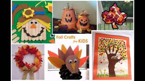 creative fall craft ideas for preschoolers youtube