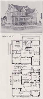 historic revival house plans tudor house plan seattle vintage residential architecture 1908