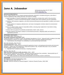 Environmental Engineer Resume Chemical Engineering Resume Samples 4 Click Here To Download