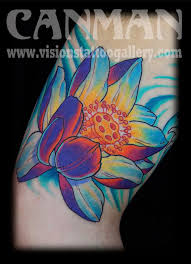 japanese lotus flower by canman tattoonow