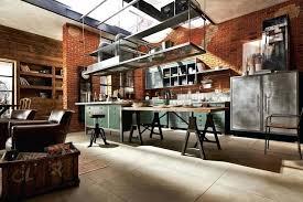 cuisine style industriel loft cuisine style industriel loft cuisine industrielle tradionnelle