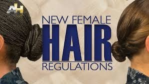 haircuts appropriate for navy women navy revises hair rules for women at boot c time