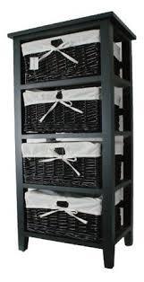 Black Bathroom Storage Altra Storage Unit With 4 Baskets By Ameriwood Home Great Deals