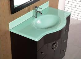 Glass Bathroom Sinks And Vanities Decorate Bathroom Vanity Top Cookwithalocal Home And Space Decor