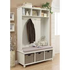 home decorators collection amelia wooden wall hutch in white