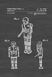 star wars medical droid patent poster patent print wall decor