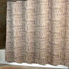 Paris Fabric Shower Curtain by Brown And Beige Shower Curtain Home Design Health Support Us