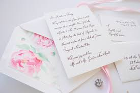 wedding invitations jakarta vintage inspired watercolor wedding invitations mospens studio