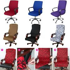 Ebay Armchair Swivel Computer Chair Cover Stretch Office Spandex Armchair