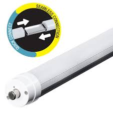 led linear tube lights feit electric 8 ft t8 t12 75w equivalent cool white 4100k linear