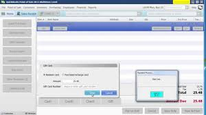 gift card software how to sell a gift card redeem a gift card in quickbooks pos