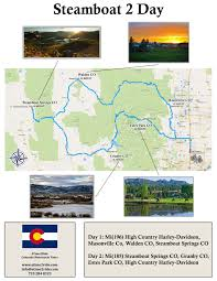 Estes Park Colorado Map by Colorado Motorcycle Tour Steamboat Springs A Time 2 Ride