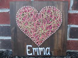 awesome string art heart 1 string art heart 27767 design