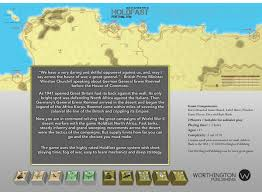 How To Play War by Holdfast North Africa Worthington Publishing