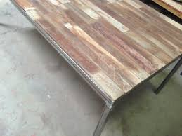 custom metal and wood furniture at san diego rustic furniture