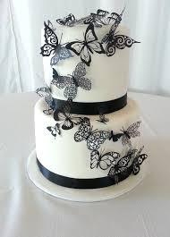 Butterfly Cake Decorations for Wedding
