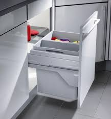 Kitchen Recycling Bins For Cabinets Space Saving Multi Seperation Recycling Bin 500mm Cabinet 39