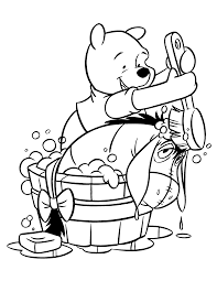 pooh and friends on pinterest winnie the pooh coloring pages