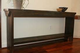 6 foot sofa 6 foot entryway table 6 foot narrow console 6 by modernrust