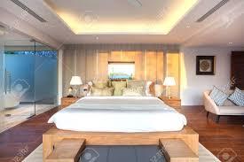 chambre piscine design d intérieur de luxe dans la villa de la chambre de la piscine