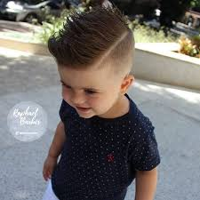 pompadour haircut toddler 40 cute haircuts for toddler boys haircuts for kids 2017