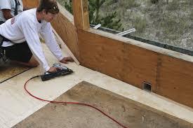 installing fiberglass roof decks professional deck builder