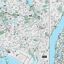 map new york nyc dot bicycle maps