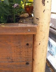 how to make a bench and planter from old bed frames flea market