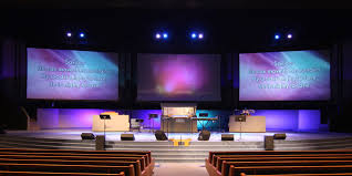advanced lighting and sound advanced lighting sound projects zion church projection