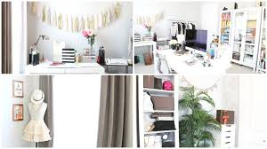 Home Decorators Coll by Office Beauty Room Tour 2016 White Copper Theme Youtube