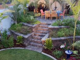 Backyard Trees Landscaping Ideas by Retaining Wall Ideas Palm Trees Grow Easily In Out Sunny