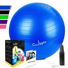 anti burst non slip exercise ball yoga stability ball chair with