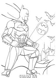 batman halloween coloring pages kids coloring