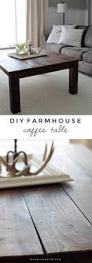 Diy Coffee Table Ideas Diy Farmhouse Coffee Table Grows