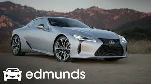 how much is the lexus lc 500 going to cost 2018 lexus lc 500 review edmunds youtube