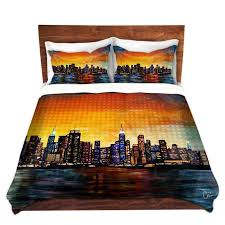 New York City Duvet Cover Unique Comforter Covers Unique Decorative Designer Corina