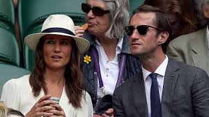 pippa middleton and husband james matthews wow at wimbledon youtube